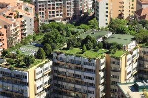 Monte Carlo city roofs, Monaco