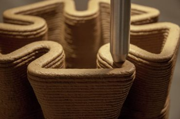 Nuevos usos en la impresión 3D: los áridos como elemento de construcción