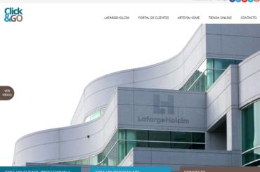"""Os presentamos """"Click&GO"""", la primera plataforma de venta online de productos y soluciones para la construcción en España"""